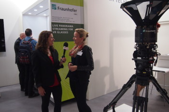 Michelle interviews Fraunhofer HHI