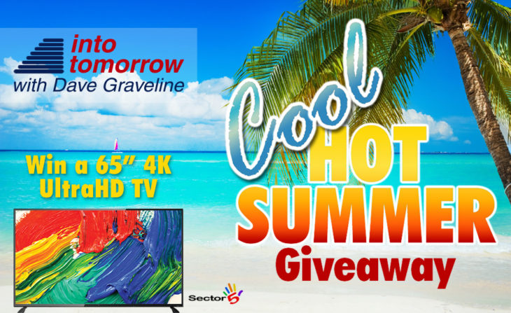 cool into tomorrow hot summer big prize